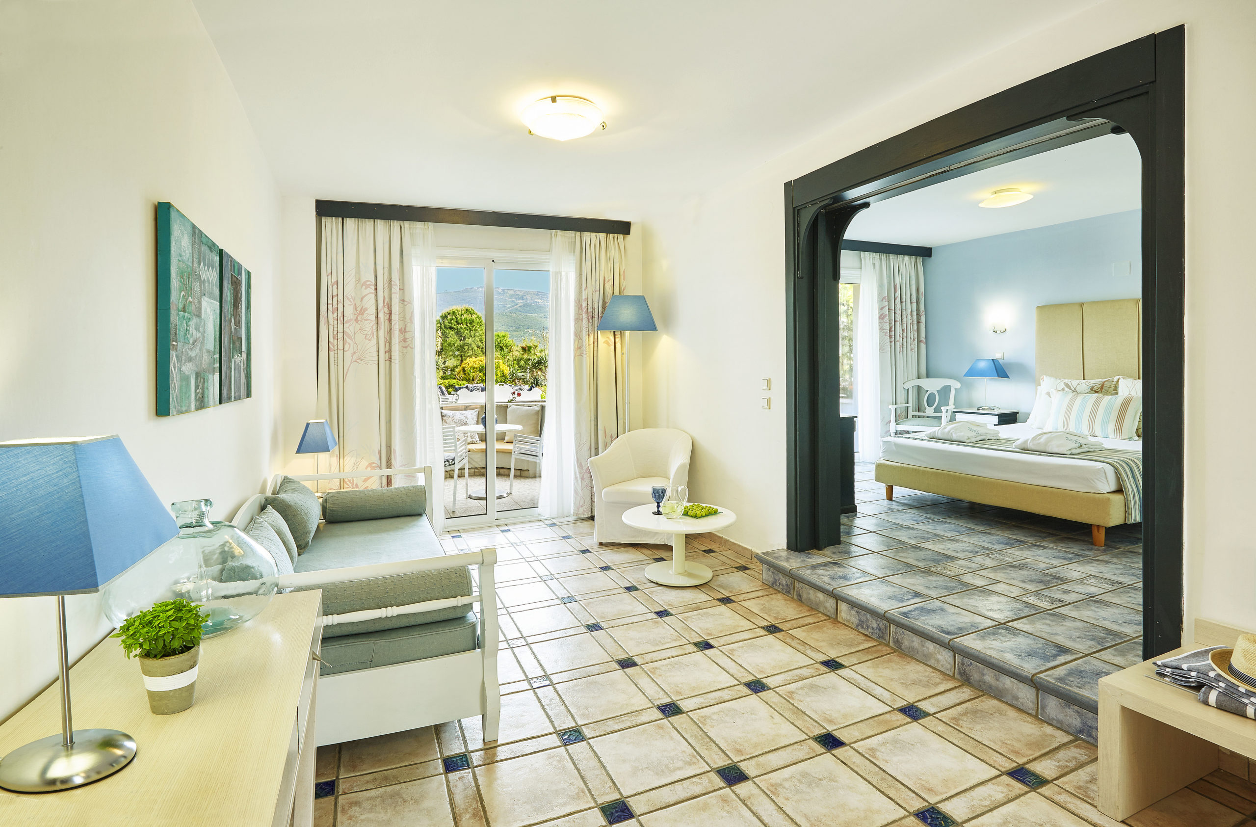 Deluxe Suite With Private Garden Terrace