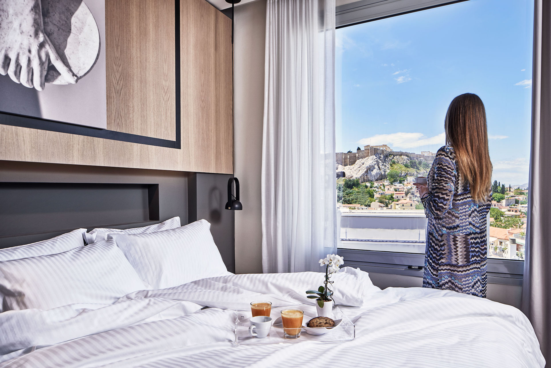 Deluxe Room Panoramic Acropolis & Lycabettus View