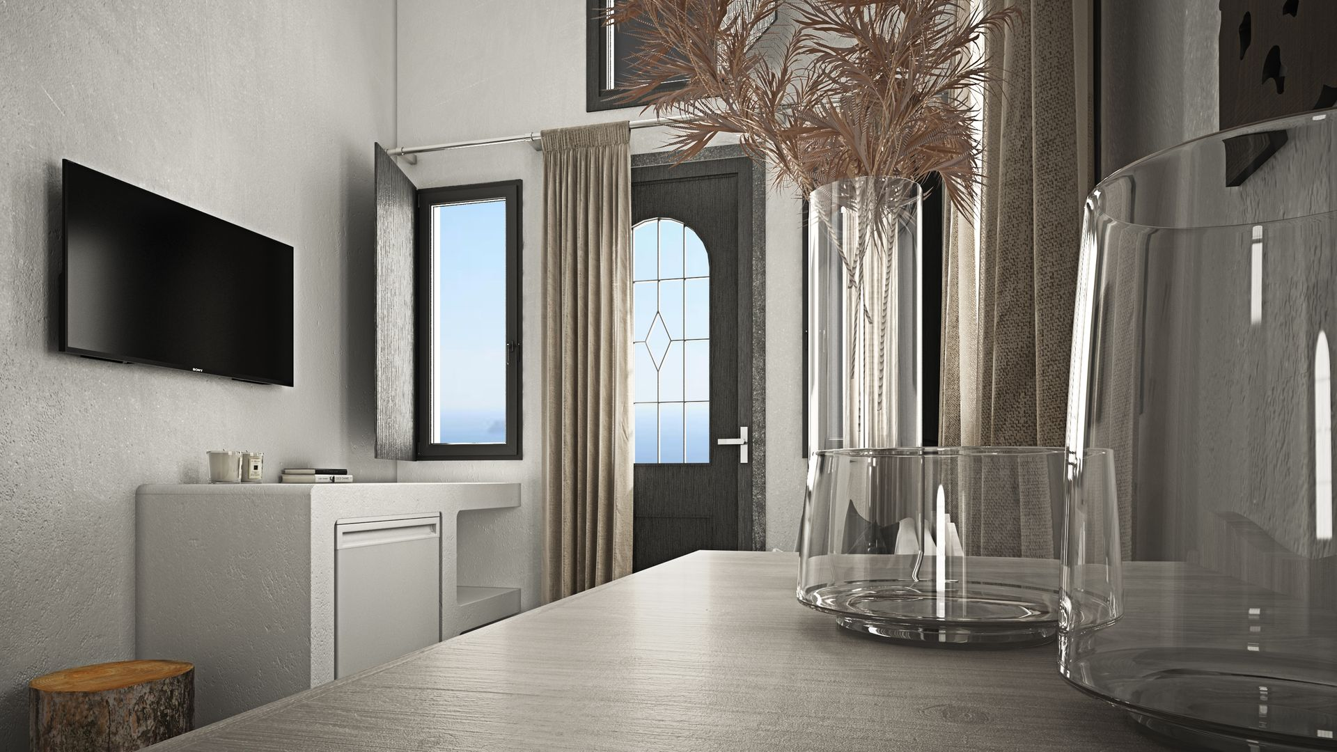 STANDARD ROOM WITH CALDERA VIEW